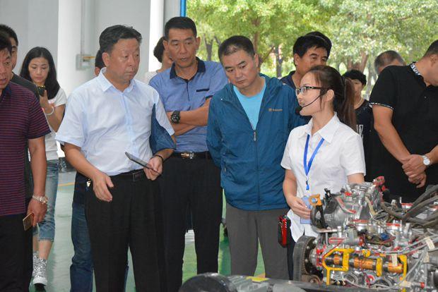 辽宁省推进职业能力建设工作培训班来我院进行现场教学